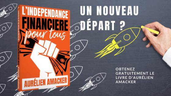 """Obtenez gratuitement le livre """"L'indépendance financière pour tous"""""""
