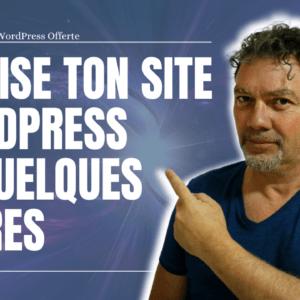 Réalise ton premier site internet WordPress